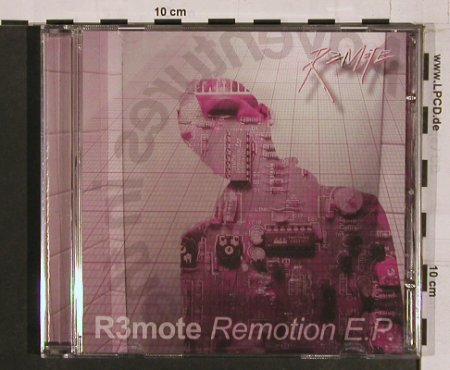 R3mote: Remotion E.P., R.G.C(007), UK, 03 - CD - 58061 - 7,50 Euro