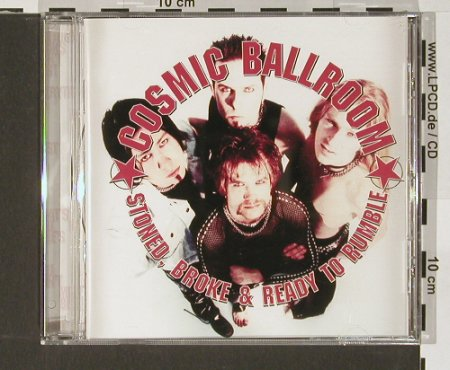 Cosmic Ballroom: Stoned, Broke and Ready to Rum, PND(), D, 04 - CD - 58287 - 10,00 Euro