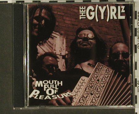 Thee G(y)Rlz: Mouthfullofpleasure, Tug014(), D, 93 - CD - 58446 - 5,00 Euro