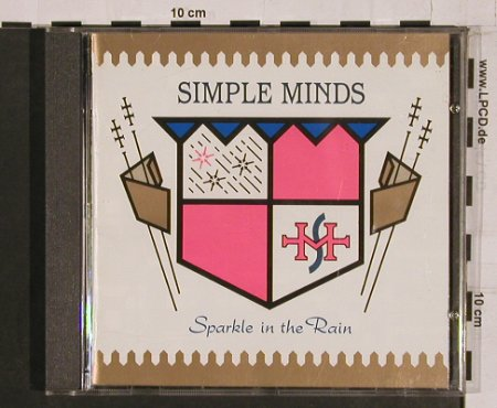 Simple Minds: Sparkle In The Rain, Virgin(CDV2300), UK, 1983 - CD - 58537 - 10,00 Euro