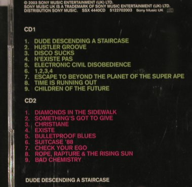 Apollo Four Forty: Dude Descending a Staircase, Sony(), UK, 03 - 2CD - 59022 - 12,50 Euro