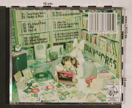 Media Whores: Master Of Pop Hits,Pop as Fuck, Sceaming Apple Rec.(SCACD145), ,  - CD - 59417 - 10,00 Euro