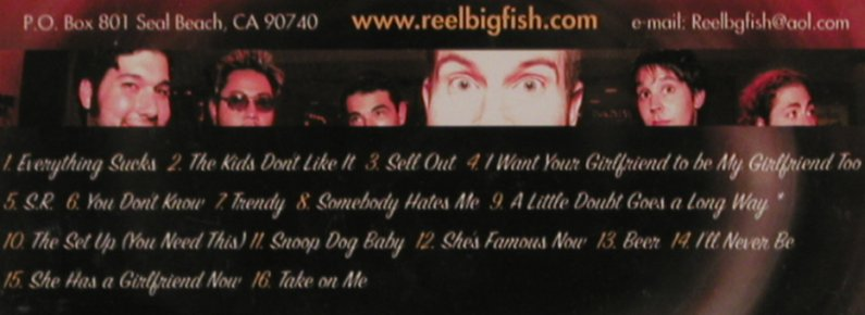 Reel Big Fish: Favorite Noise, Mojo/Jive(9222922), EU, 2002 - CD - 59664 - 7,50 Euro