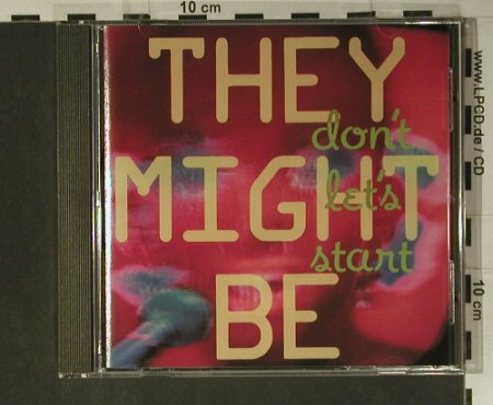 They Might Be Giants: Don't Let's Start, RoughTrade(), D, 1989 - CD - 59730 - 7,50 Euro