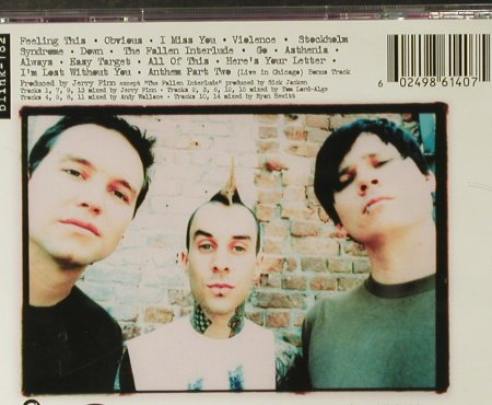 Blink 182: Same, MCA(), EU, 2003 - CD - 59788 - 10,00 Euro