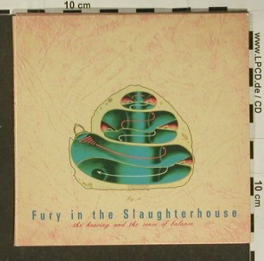 Fury In The Slaughterhouse: The Hearing &Sense of Balace, SPV(), D, Digi, 95 - CD - 59848 - 5,00 Euro