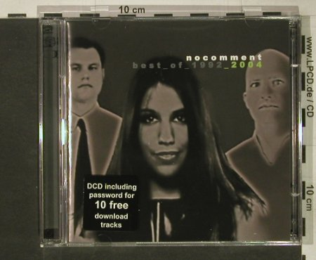 No Comment: Best Of 1992-2004, Nanopop(), D, 2002 - 2CD - 59859 - 7,50 Euro