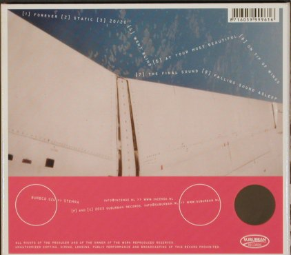 Incense: On Tip of Wings we walk, Digi, Suburban(), , 2003 - CD - 60119 - 5,00 Euro