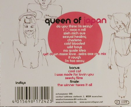 Queen Of Japan: Head Rush, Echokammer(), D, 2002 - CD - 60235 - 10,00 Euro