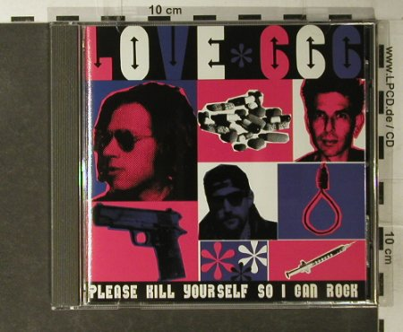 Love 666: Please Kill Youself So I Can Rock, Amphetamin(), US, 96 - CD - 60351 - 5,00 Euro