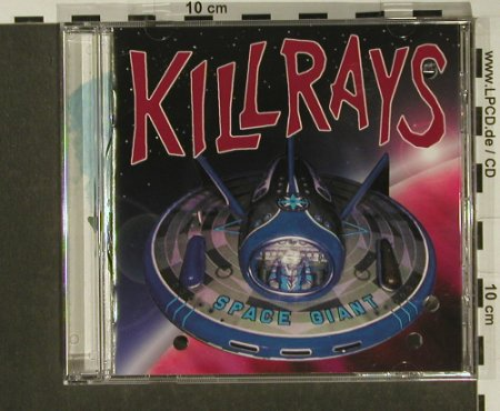 Killrays: Space Giant, co, Lost+Found(), D, 1995 - CD - 60492 - 4,00 Euro