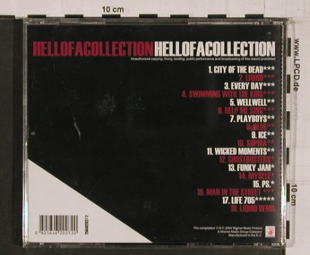 Rasmus: Hellofacollection, Warner(), EU, 2004 - CD - 60633 - 7,50 Euro