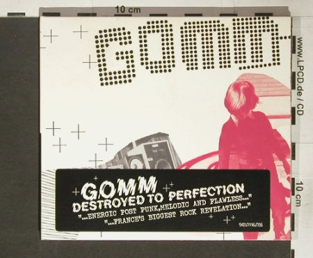 Gomm: Destroyed to Perfection, Digi, Association a Roulettes(), , 2004 - CD - 60673 - 10,00 Euro