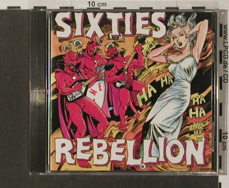 V.A.Sixties Rebellion: Vol.12, Demented,16 Tr., Way Back Rec.(MMCD 66014), D, 1994 - CD - 60712 - 10,00 Euro
