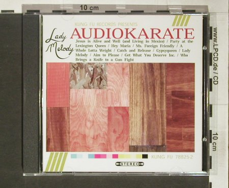 Audio Karate: Lady Melody, Kung Fu(), , 2004 - CD - 60791 - 7,50 Euro