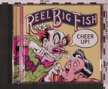 Reel Big Fish: Cheer Up!, Mojo(), EU, 2002 - CD - 60873 - 7,50 Euro