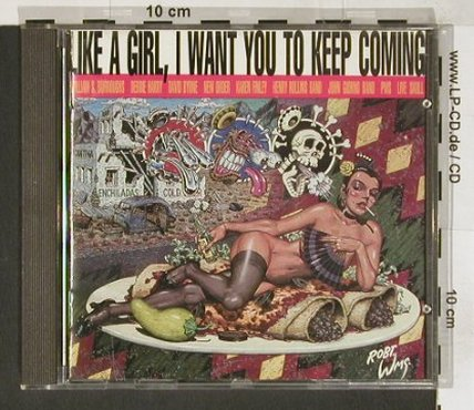 V.A.Like A Girl,i Want..: Rollins,Byrne,Finley,., Serv(008), , 89 - CD - 60932 - 5,00 Euro
