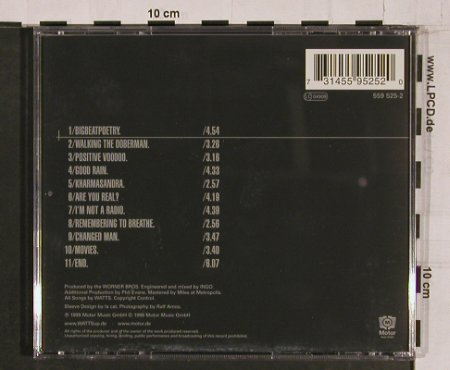 Watts: Bigbeatpoetry (Fischer-Z), Motor(), D, 1999 - CD - 60961 - 7,50 Euro