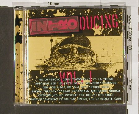V.A.Intro Ducing Vol.1: 20 Tr., Intro(), D, 95 - CD - 61001 - 7,50 Euro