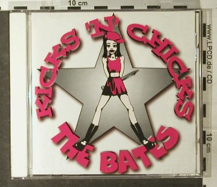 Bates: Kicks'n'Chicks, Virgin(), EEC, 1996 - CD - 61048 - 7,50 Euro