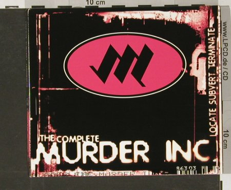 Murder Inc.: Locate Subvert Terminate,theCompl., Invisible(), Digi, 99 - 2CD - 61184 - 12,50 Euro