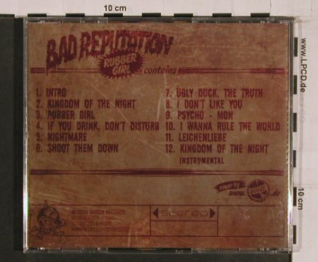 Bad Reputation: Rubber Girl, Bloody Baron Records(BBR), ,  - CD - 61483 - 14,00 Euro