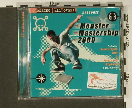 V.A.Monster Mastership 2000: 20 Tr., BMG(), EU, 00 - CD - 61656 - 4,00 Euro