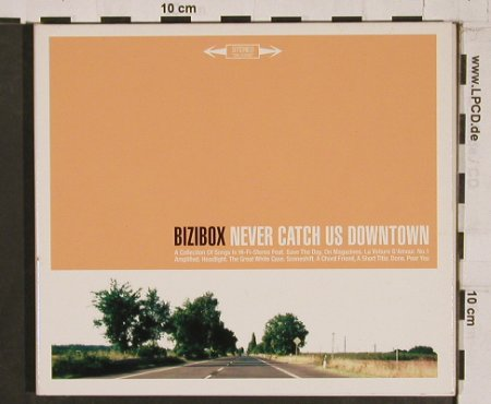 Bizibox: Never Catch Us Down, Digi, Tumbleweed(), EU, 05 - CD - 61690 - 10,00 Euro