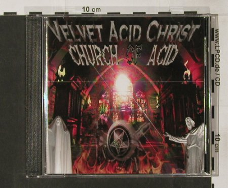 Velvet Acid Christ: Church of Acid, OffBeat(), D, 96 - CD - 62349 - 7,50 Euro