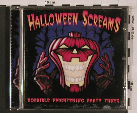 V.A.Halloween Screams: Horrible Frightening Party Tunes, Mata Hari(), D, 99 - CD - 62851 - 7,50 Euro