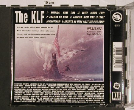 KLF: America- What Time Is Love*4, Blow Up(825.927), , 1991 - CD5inch - 63200 - 4,00 Euro
