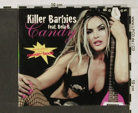 Killer Barbies feat. Bela B.: Candy*2+2, Digi, Drakkar(), EU, 2002 - CD5inch - 63622 - 5,00 Euro