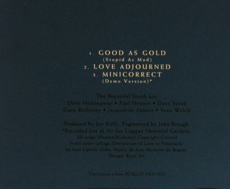 Beautiful South: Good As Gold+2, GO!(), D, 94 - CD5inch - 63749 - 2,50 Euro