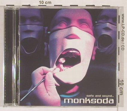Monksoda: Safe and Sound, Radar(), EU, 01 - CD - 63777 - 3,00 Euro