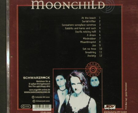 Moonchild: Some Where Some Place Somehow, Scheintot(), D, 2002 - CD - 63818 - 5,00 Euro