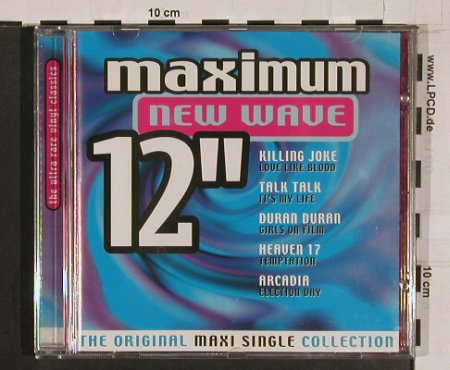 "V.A.Maximum New Wave 12"": 10 Tr., Disky(), NL, 00 - CD - 64043 - 5,00 Euro"