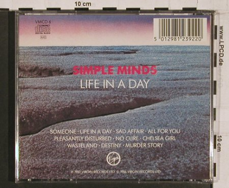 Simple Minds: Life In A Day, Virgin(), D, 1986 - CD - 64048 - 7,50 Euro