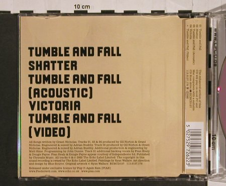 Feeder: Tumble and Fall *2+2+video, Echo(157), , 2005 - CD5inch - 64584 - 3,00 Euro