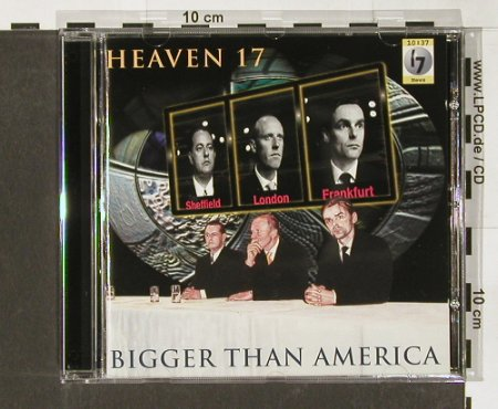 Heaven 17: Bigger than America, WEA(), D, 96 - CD - 64670 - 5,00 Euro