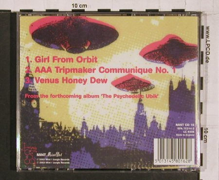 Sterling Roswell: Girl from Orbit+2, Mint(MINT CD 16), UK, 2002 - CD5inch - 64866 - 3,00 Euro