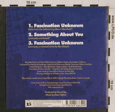 All Systems Go: Fascination Unknown*2+1, Bad Taste(), EU, 2002 - CD5inch - 65056 - 3,00 Euro