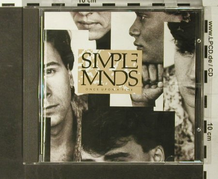Simple Minds: Once Upon A Time, Virgin(CDV 2364), UK,  - CD - 65388 - 7,50 Euro