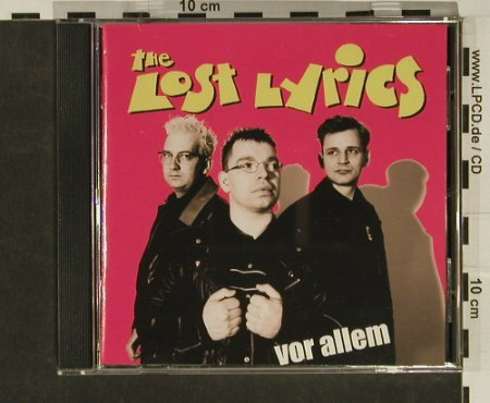 Lost Lyrics: Vor Allem, co, Hulk Rec(), D, 02 - CD - 65411 - 4,00 Euro