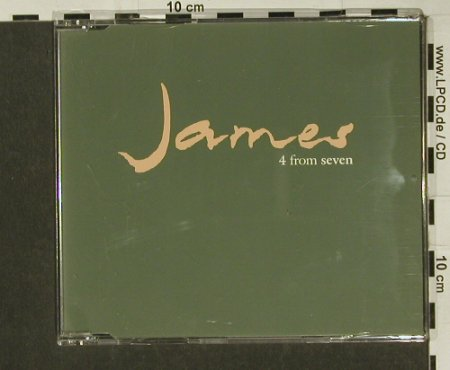 James: 4 From Seven, 4 Tr.Promo, Fontana(4 FRM 7), UK, 92 - CD5inch - 65516 - 3,00 Euro