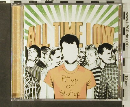 All Time Low: Put Up Or Shut Up, 7Tr., Hopeless(), US, co, 2006 - CD - 65666 - 7,50 Euro
