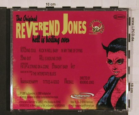Reverend Jones: Hell Is Boiling Over, Loudsp.(), D, 00 - CD - 65748 - 5,00 Euro