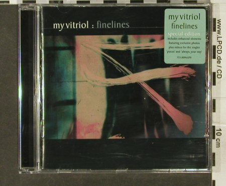 My Vitriol: Finelines, 16 Tr., Infectious(96cd), UK, 2001 - CD - 65832 - 7,50 Euro