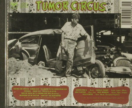 Tumor Circus: Same(Jello Biafra w.Charlie Tolnay), Alternative Tentacles(VIRUS 87CD), UK, 1991 - CD - 65896 - 10,00 Euro