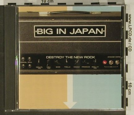 Big In Japan: Destroy The New Rock, Honest Don(), US, 2001 - CD - 66234 - 2,50 Euro