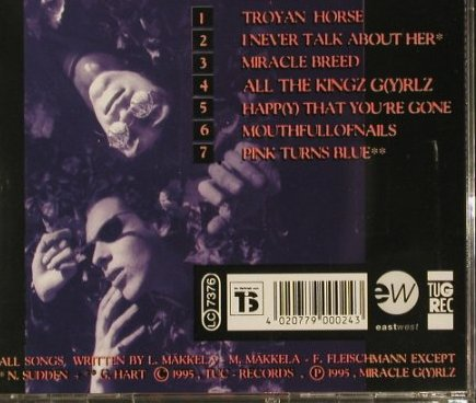 Miracle G(y)rlz: Same, TugRec(), D, 95 - CD - 66260 - 7,50 Euro